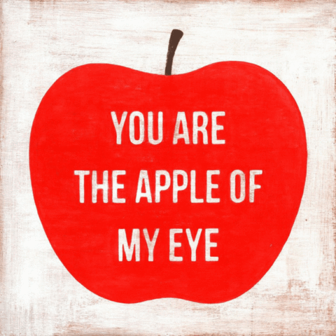 Sugarboo Designs You Are the Apple of My Eye Art Print