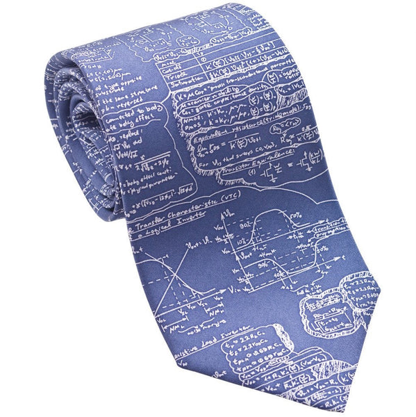 Josh Back 100% silk necktie | Scientific formulas