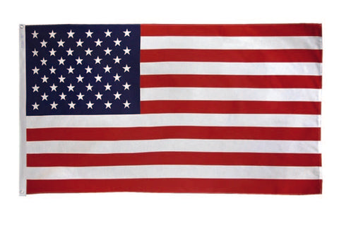 American Embroidered Flag - Nylon  4' x 6'