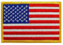 "United States Patch - 2.5"" x 3.5"""