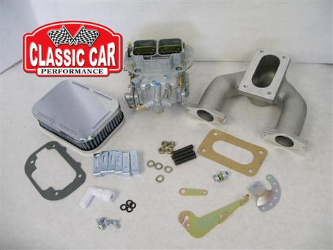 948cc-1275cc  32/36 DGV Weber Carb Conversion Kit
