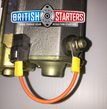 Jaguar XKE Denso High Torque Gear Reduction Starter