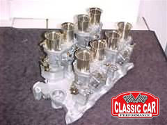 Rover V8 - 40 IDF Weber Carburetor Conversion Kit