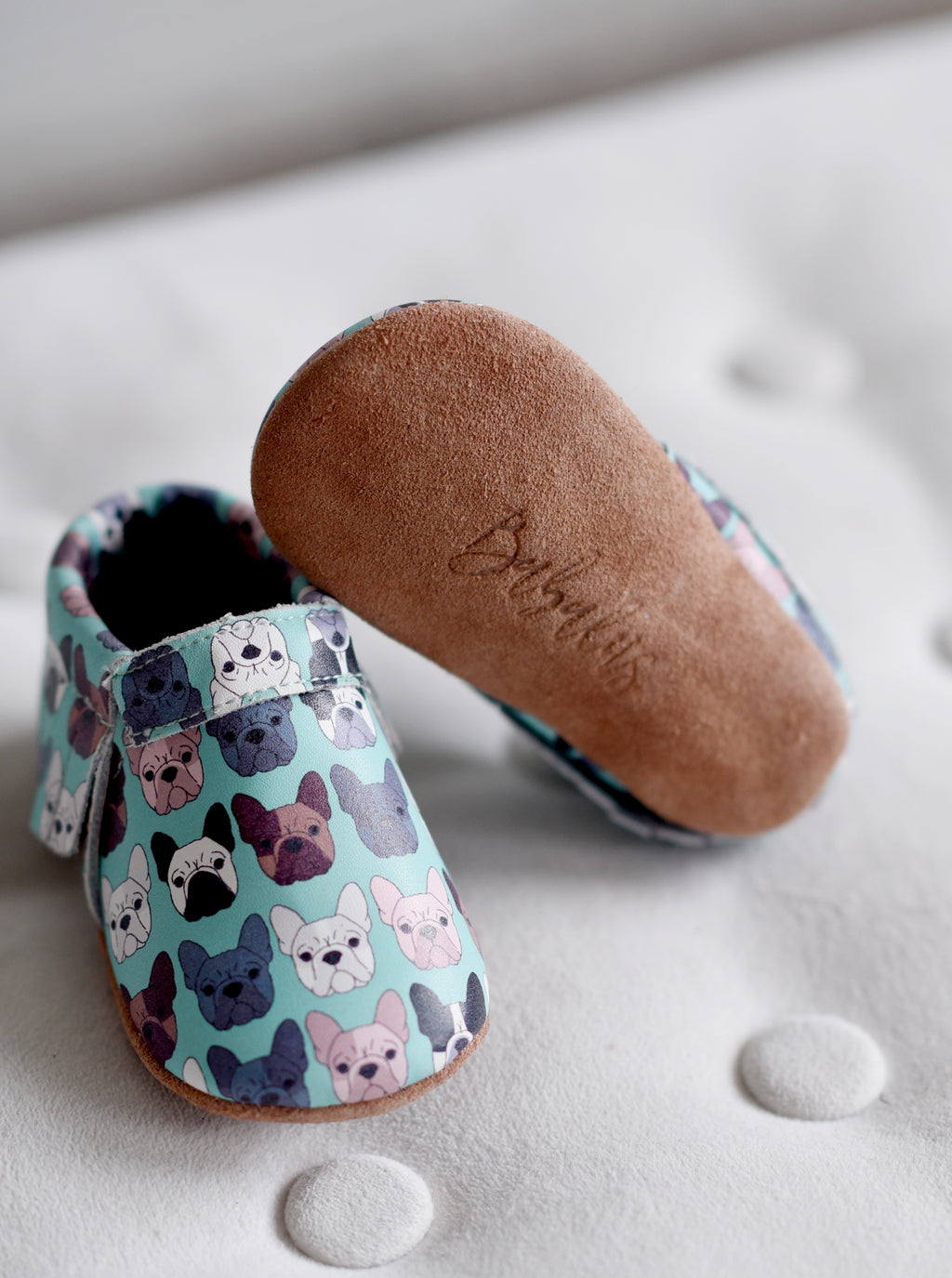 French Bulldog Moccasins
