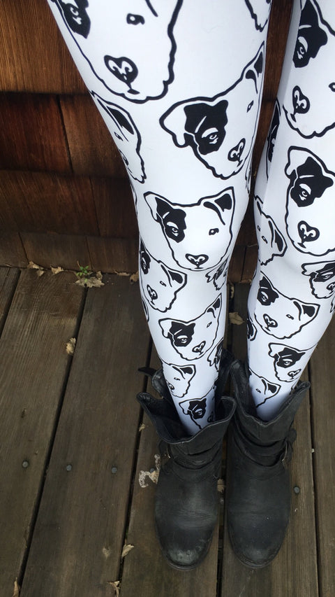 Pitbull Face Women's Leggings