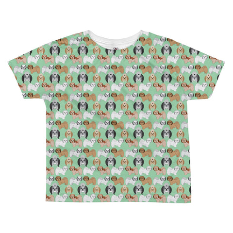 Shih Tsu All-over kids sublimation T-shirt