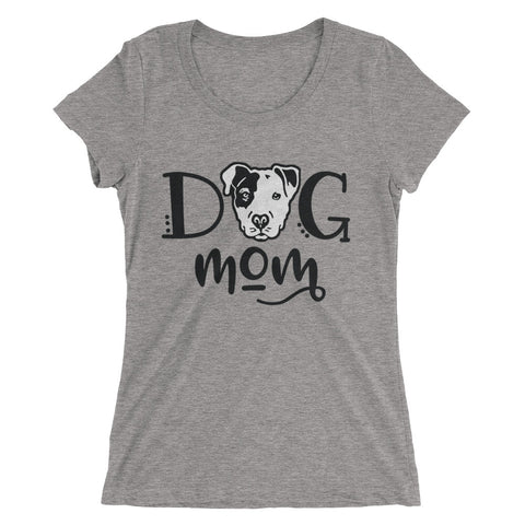 Dog Mom Pitbull Ladies' short sleeve t-shirt