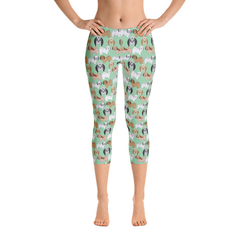 Shih Tsu Capri Leggings