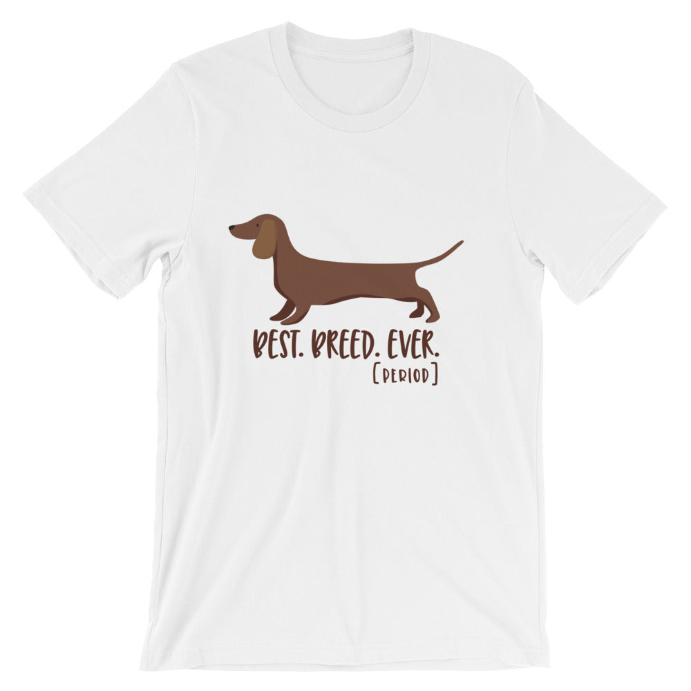 Weiner Dog Dachshund Short-Sleeve Unisex T-Shirt