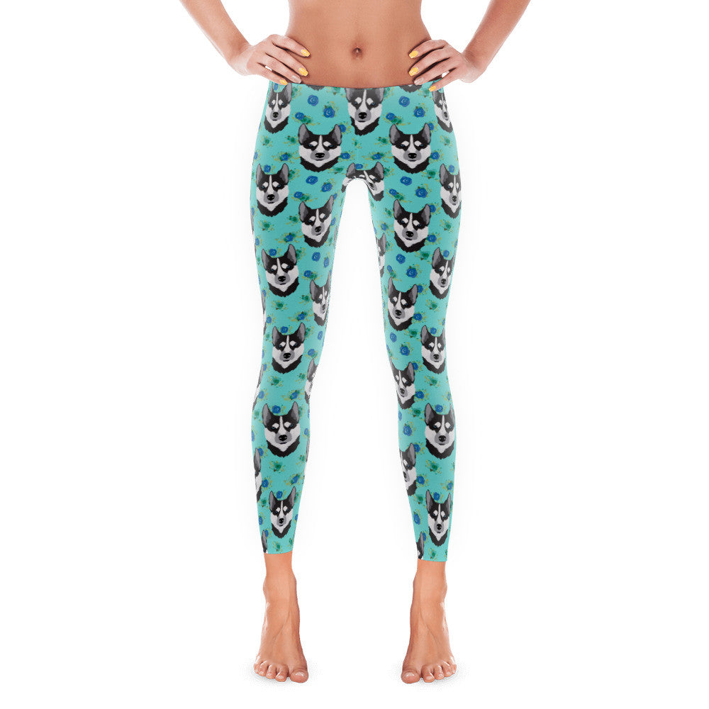 Floral Husky Women's Leggings