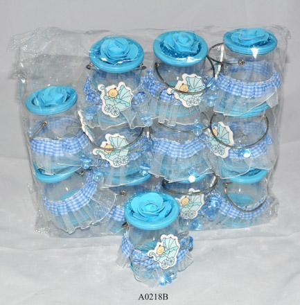 Blue Buckets for boys  Buckets: 12 pcs/pack   Item number: A0218B
