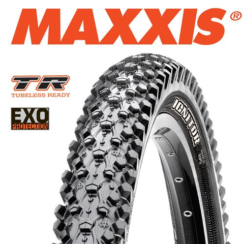 "MAXXIS IGNITOR 29 X 2.10"" TR EXO FOLD TYRE"
