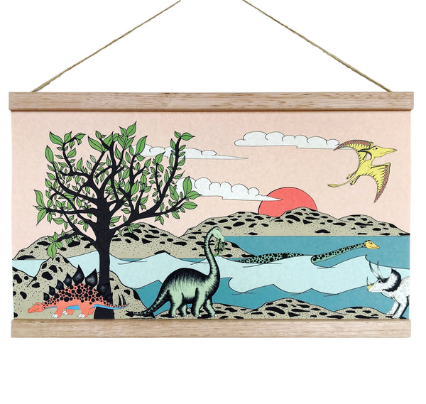 Art Hanger - For The Love Of Trees & Dinosaurs - A3+