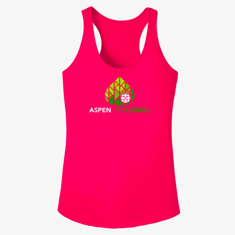 Aspen Pickleball Ladies Performance Racerback Vest - Front Logo
