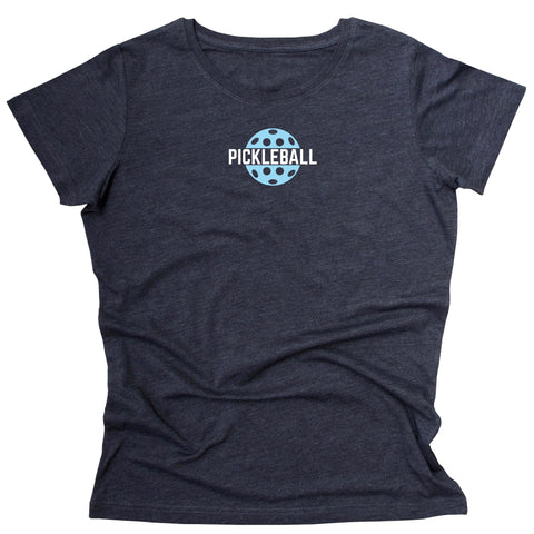 Classic Pickleball Ladies T-Shirt - Vintage Casual Cotton Blend