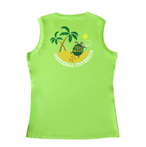 Vero Beach, FL - Pickleball University Club Ladies Performance Vest