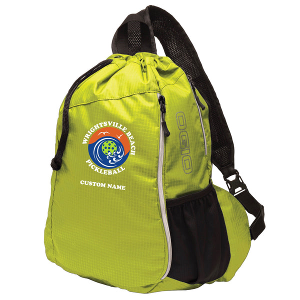 Wrightsville Beach Embroidered Pickleball Bag - OGIO® Pickleball Bag - Pickleball Sports Bag
