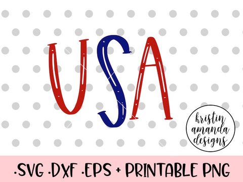 4th of july svg cut file