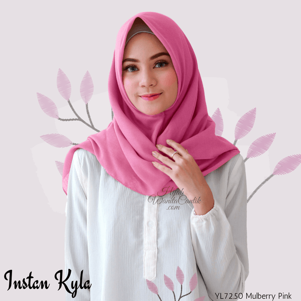 Instan Kyla Voal - YL72.50 Mulberry Pink