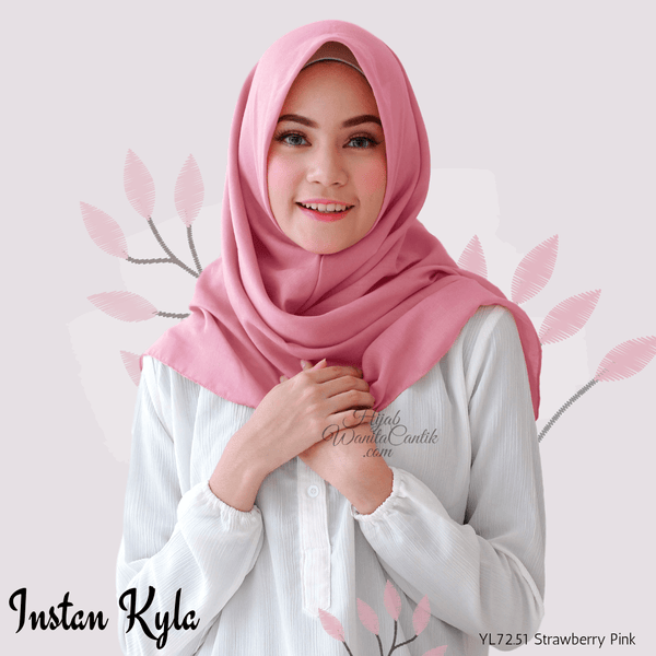 Instan Kyla Voal - YL72.51 Strawberry Pink