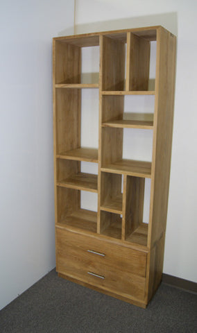 Teak Book Rack with two drawer