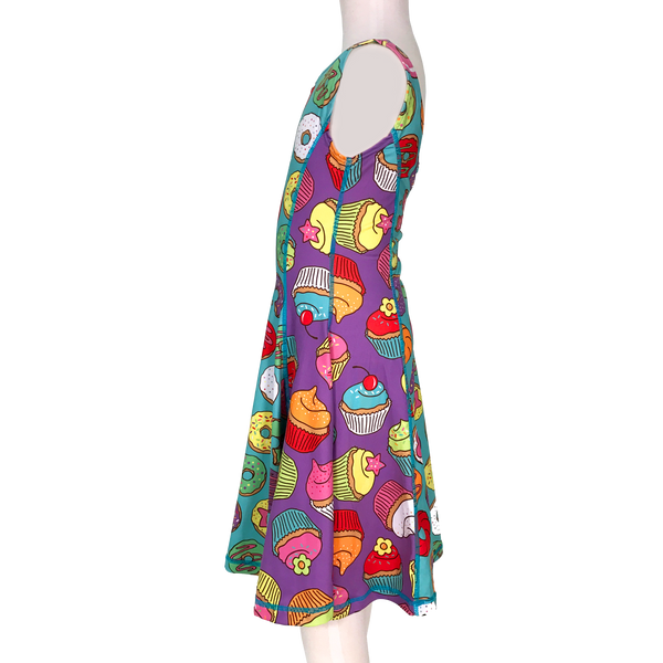Sprinkles Girl Tank Twirl Dress,Dresses,Chooze-The Little Clothing Company