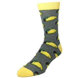Crunchy Taco Socks - The Sock Spot