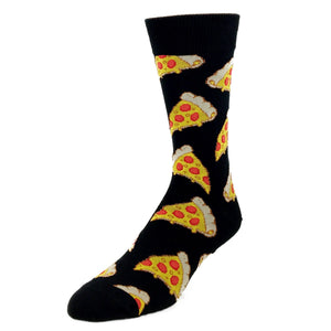 Socks - Pizza Slice Socks - Black