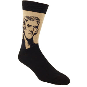 Socks - Thomas Jefferson Socks - Brown