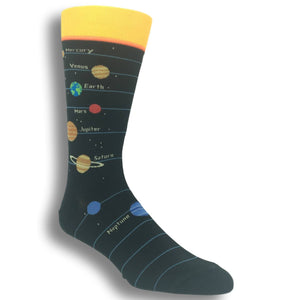 Solar System Socks By Foot Traffic
