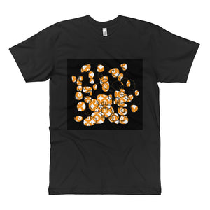 Bitcoin Black Unisex Fine Jersey Tall T-Shirt