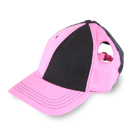 Pigtail Hat 1.0 Black/Pink