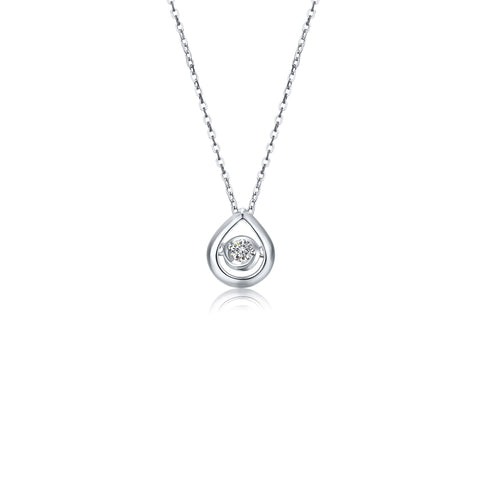 Pallas collection 18k diamond necklace