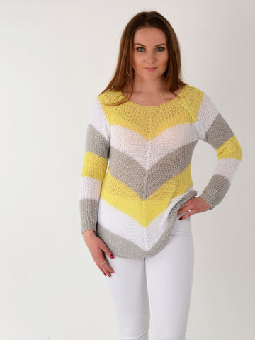 Lemon Stripe Jumper - Capsuleight