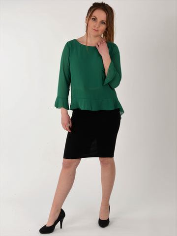 Green Blouse - Capsuleight