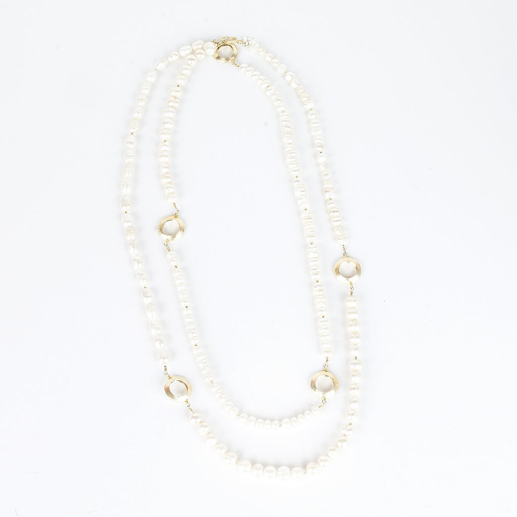 Mixed Fresh Water Pearls Necklace