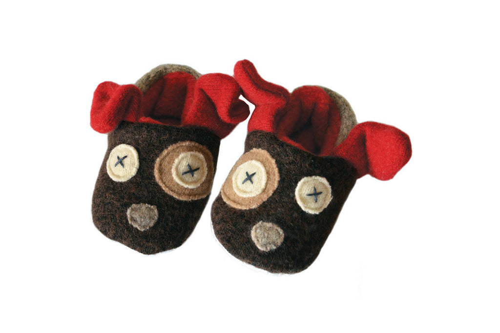 Baby Dog Slippers ---
