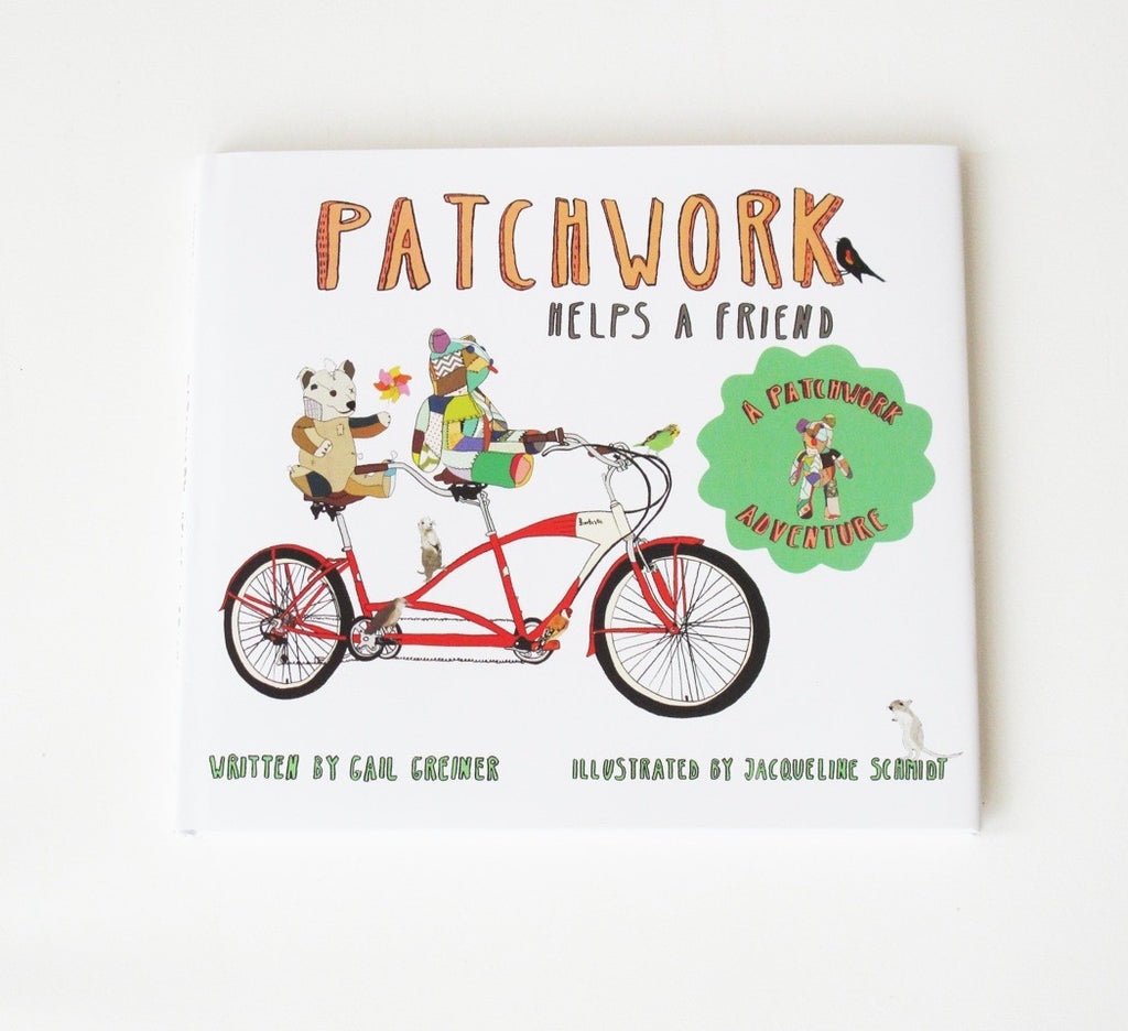 Patchwork Helps a Friend Children's Book ---