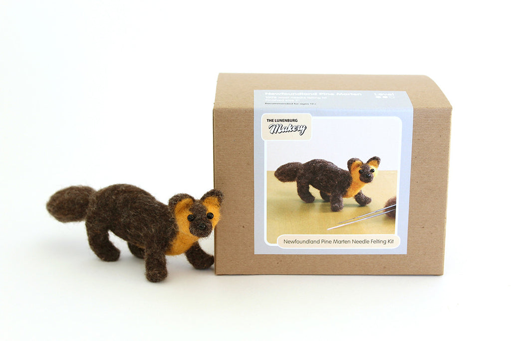Pine Marten Needle Felting DIY Kit