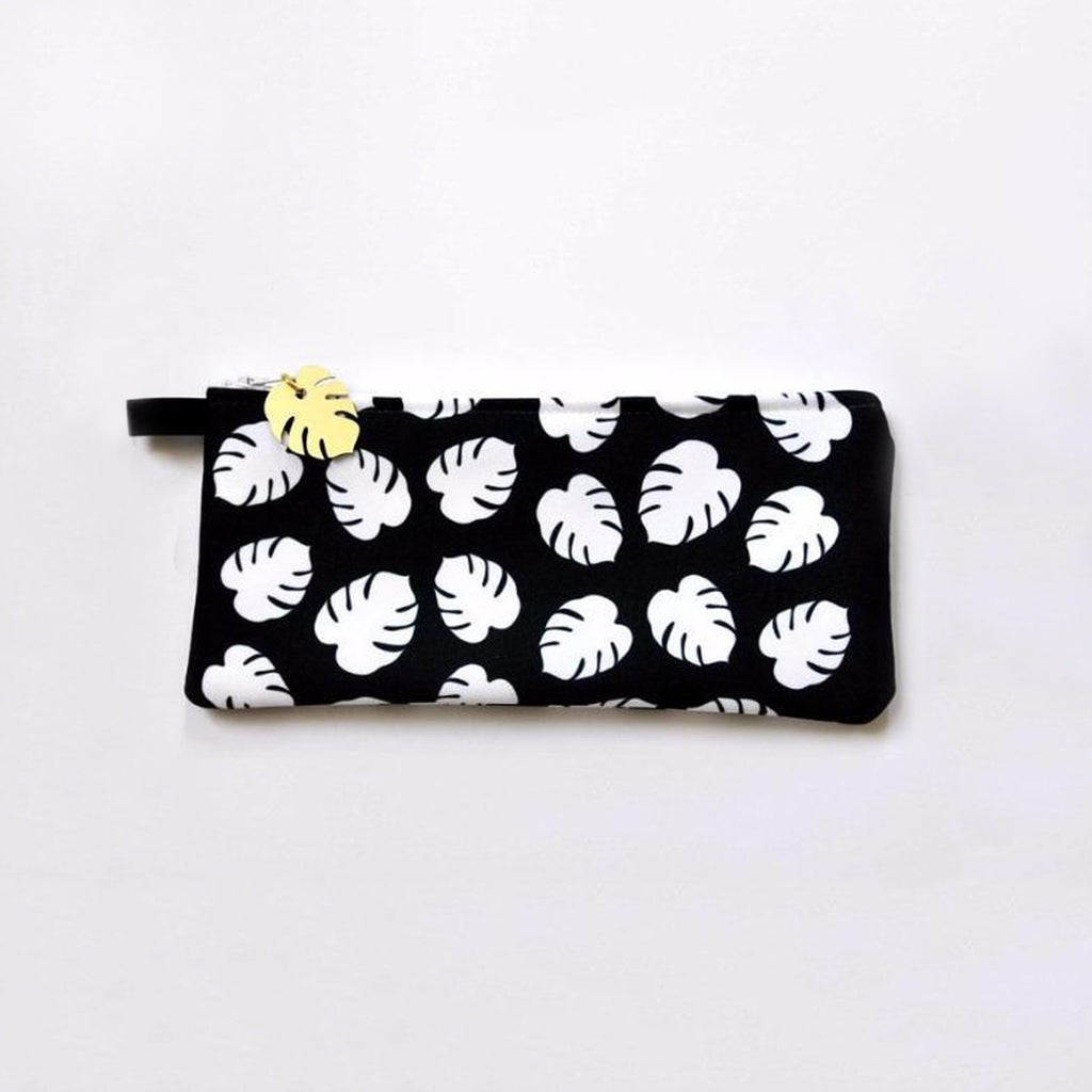 Monstera Leaf Pouch