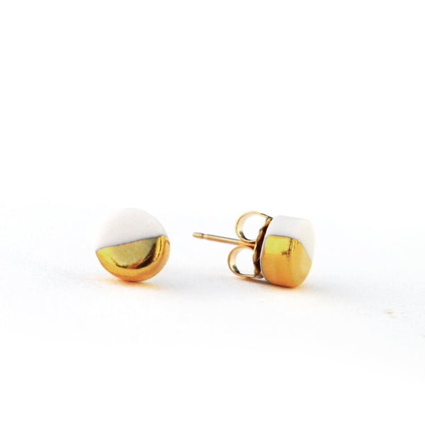 Tiny Orb Stud Earrings