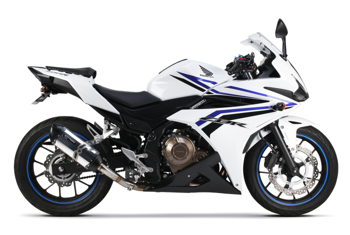 Honda CBR500R Slip-On Systems (2016-2019) - Two Brothers Racing - TBR