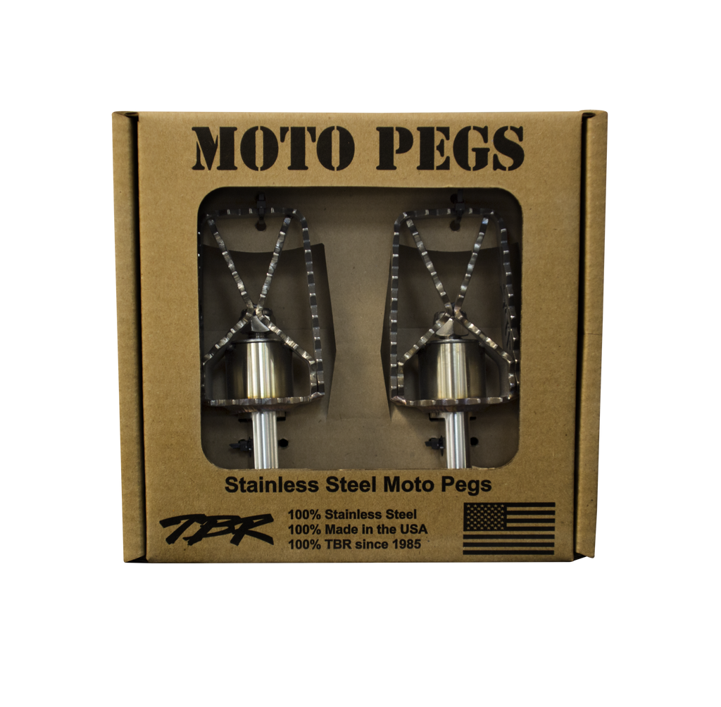 HD Dyna & Sportster Moto Footpegs - Two Brothers Racing - TBR