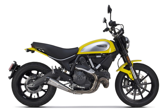 Ducati Scrambler Comp Slip-On Exhaust (2015-2019) - Two Brothers Racing - TBR