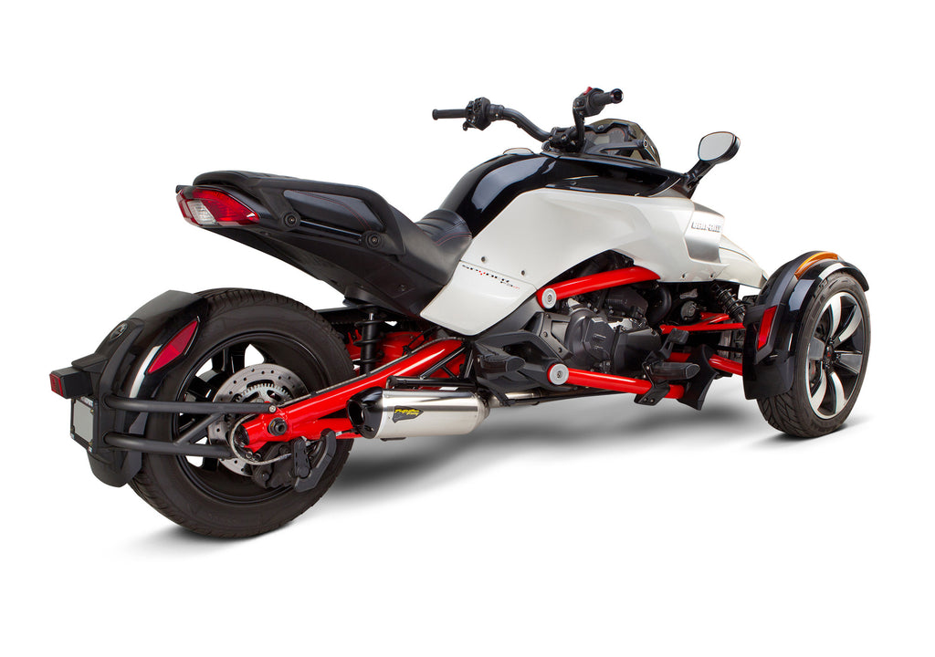 Can-Am Spyder F3/S S1R Slip-On System (2015-2019) - Two Brothers Racing - TBR