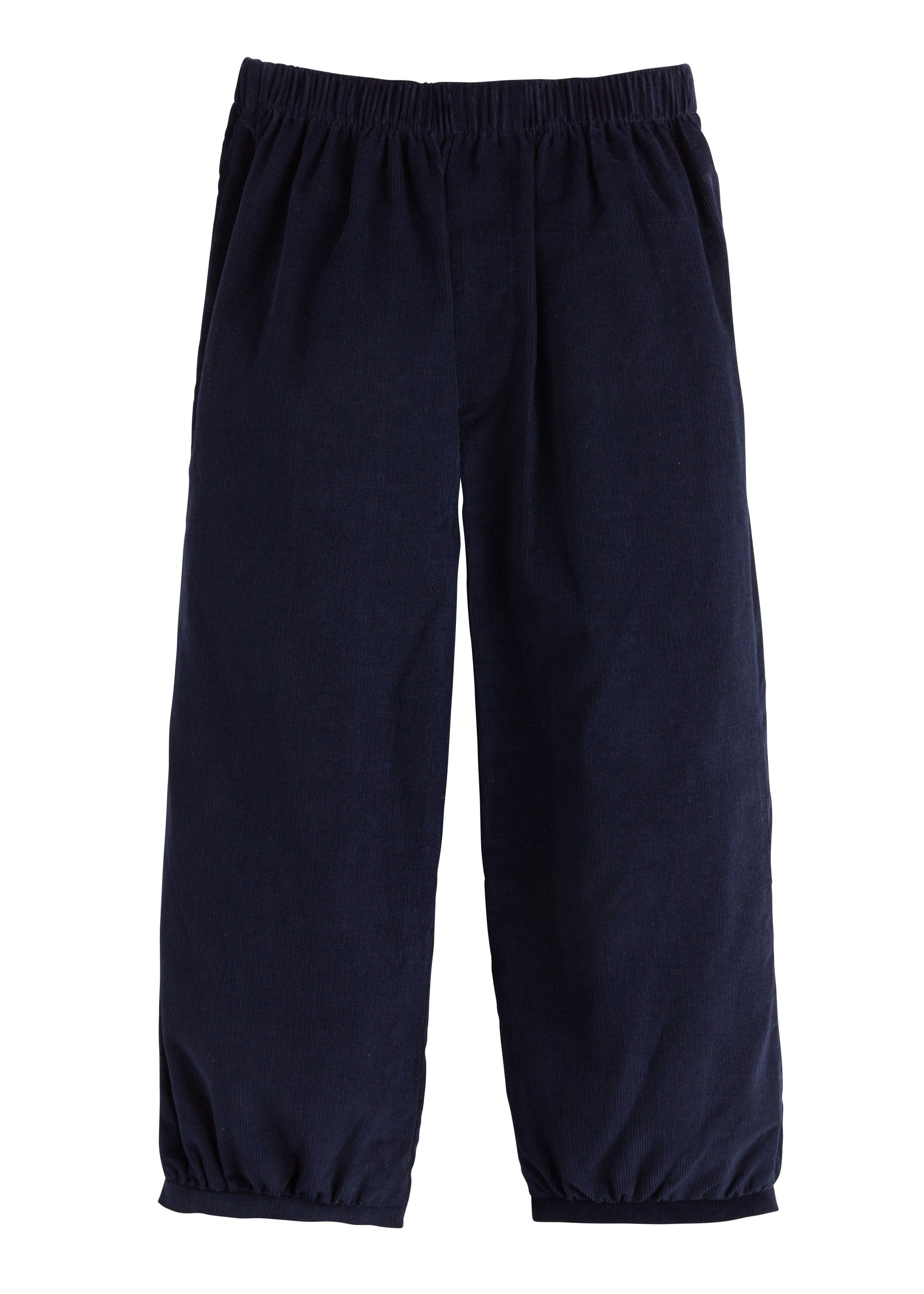 Banded Pull on Pant - Navy