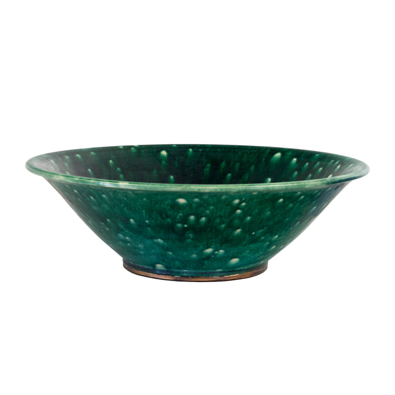 1940's Ceramic Green Bowls