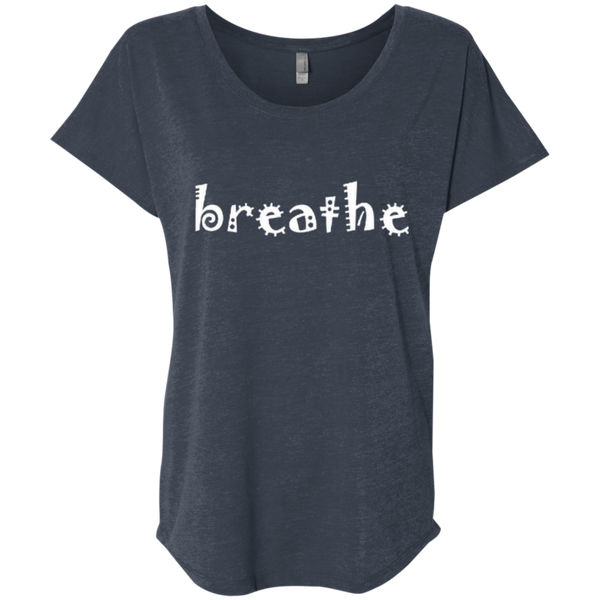 Breathe Travel Wander Women's T-Shirt - The Art Of Travel Store: Travel Accessories and Travel T-Shirts