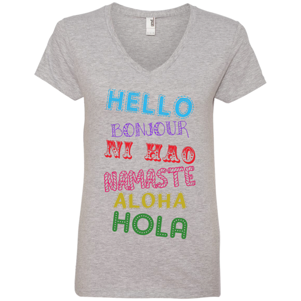 Hello Aloha Women's Travel T-Shirt - The Art Of Travel Store: Travel Accessories and Travel T-Shirts