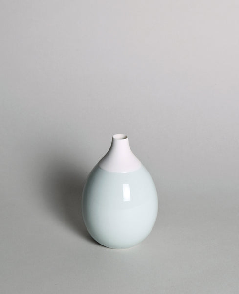 Porzellanvase_farbig_porcelain_vase_colour-mint